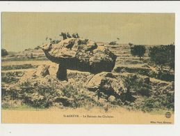 SAINT AGREVE LE DOLMEN DES CHALAYES CPA BON ETAT - Dolmen & Menhirs
