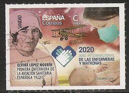 2020-ED. 5406 -Sanidad. 2020 Año Internacional De Enfermeras Y Matronas- USADO - 1931-Hoy: 2ª República - ... Juan Carlos I