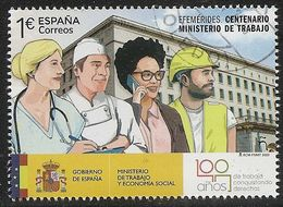 2020-ED. 5407 -Efemérides. Centenario Ministerio De Trabajo- USADO - 1931-Hoy: 2ª República - ... Juan Carlos I