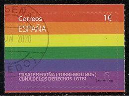 2020-ED. 5412 -Día Internacional Del Orgullo LGTBI. Pasaje Begoña- USADO - 1931-Hoy: 2ª República - ... Juan Carlos I