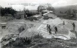 87. HAUTE-VIENNE - LA JONCHERE. Carrières De Kaolin. Lavage Et Séchage. - Andere Gemeenten