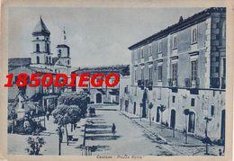 CASCANO - PIAZZA ROMA F/GRANDE VIAGGIATA 1950 ANIMAZIONE - Caserta