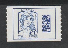 Timbre Adhésif - 1176A  -  2015    - Type Marianne De Ciappa Et Kawéna - Datamatrix - France