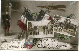 56 ème REGIMENT D' INFANTERIE - SOUVENIR De CHALON Sur SAONE - - Guerre 1914-18