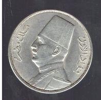 EGYPTE 20 PIASTRES EN ARGENT 1348 / 1929 FOUAD Ier - Egitto