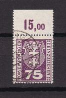 Danzig - Portomarken - 1921 - Michel Nr. 5 P OR - Gestempelt - 120 Euro - Dantzig