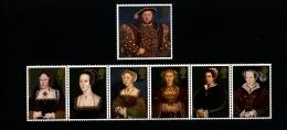 GREAT BRITAIN - 1997  HENRY  VIII  SET  MINT NH - Blocks & Miniature Sheets