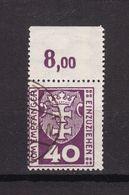 Danzig - Portomarken - 1921 - Michel Nr. 3 P OR - Gestempelt - 60 Euro - Dantzig