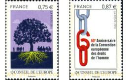 Ref. 254677 * MNH * - FRANCE. 2010. EUROPEAN COUNCIL . CONSEJO DE EUROPA - Ongebruikt