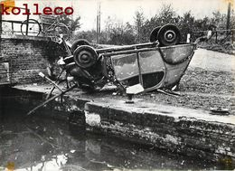 MACQUIGNY ACCIDENT AUTOMOBILE CITROEN 2 CHEVAUX ECLUSE DE HAUTEVILLE MICHEL LEYSSENS VOYENNE FAIT DIVERS CAR CRASH - Francia