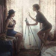 Thèmes > Illustrateurs & Photographes > Photographie De David Dubnitskiy Serie Russian Girls 20 REPRODUCTION Erotique - Illustrateurs & Photographes