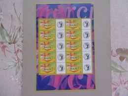 FRANCE 2001  F3433  * *    TIMBRES  DE MESSAGE - Personalizzati