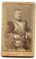 Photographie Privée Cuirassier Ste MENEHOULD - Guerre, Militaire