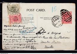 Postkaart Van South.Shields Naar Uccle (Belgie) - Storia Postale