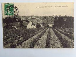 C. P. A. : 49 QUINCE BRISSAC : Vue D'Ensemble, Timbre En 1916 - France