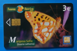 Spain Espana Butterfly Papillon Mariposa Schmetterling Farfalla Fauna Iberica Mariposa Sofia Issoria Lathonia - Vlinders