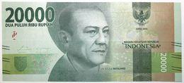 Indonésie - 20000 Rupiah - 2017 - PICK 158b - NEUF - Indonesien