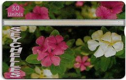 Seychelles - C&W Seytels (L&G) - Medicinal Plants - 603L - 30U, 03.1996, 16.000ex, Used - Seychelles