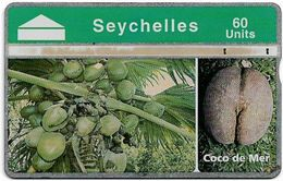 Seychelles - C&W Seytels (L&G) - Coco De Mer - 805A - 30U, 05.1998, 32.000ex, Used - Seychelles