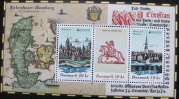 Denmark 2020.  Europa - CEPT; Ancient Postal Routes; Souvenir Sheet, MNH (**) - Unused Stamps