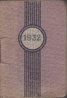 Petit Calendrier Agenda 1932 : Pub Sirop Deschiens  ///  Ref.  Juin   20 / N° 11.823 - Kalenders