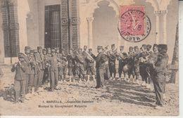 MARSEILLE - Exposition Coloniale - Musique Du Gouvernement Malgache  PRIX FIXE - Exposiciones