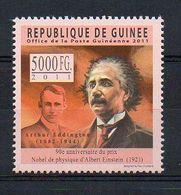REP. GUINEA. 2011. SCIENCE. ALBERT EINSTEIN. MNH (6R1131) - Albert Einstein