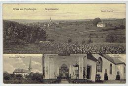 PLZ 97640 - Grüss Aus HENDUNGEN - Mellrichstadt - Gesamsansicht - Mehrbildkarte - Mellrichstadt