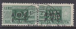 Trieste Zona A - AMG-FTT - Pacchi Su 2 Righe N.10 - Cat. 1400 Euro - Usato - Luxus Gestempelt - Paketmarken/Konzessionen