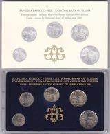 Official BU Coin Set Serbia 2003 - Serbie