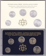 Official BU Coin Set Serbia 2003 - Serbien