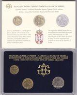 Official BU Coin Set Serbia 2005 - Serbie