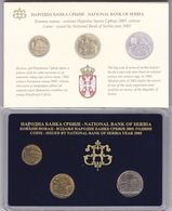 Official BU Coin Set Serbia 2005 - Serbien
