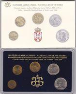 Official BU Coin Set Serbia 2006 - Serbie
