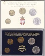 Official BU Coin Set Serbia 2006 - Serbien