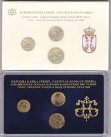 Official BU Coin Set Serbia 2008 - Serbien
