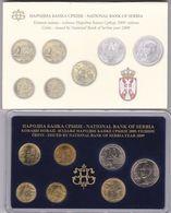Official BU Coin Set Serbia 2009 - Serbie