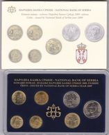 Official BU Coin Set Serbia 2009 - Serbien