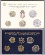 Official BU Coin Set Serbia 2010 - Serbie