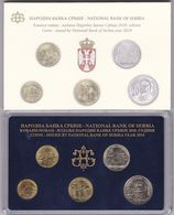 Official BU Coin Set Serbia 2010 - Serbien