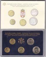 Official BU Coin Set Serbia 2012 - Serbie