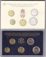 Official BU Coin Set Serbia 2012 - Serbien