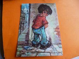 """' Poulbot ' Le P....' De Michel Thomas """" Neuves"""" Edit Krisarts ' Urine Sur Le Mur ' Paquet De Cigarette Par Terre - Thomas"""