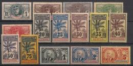 Côte D'Ivoire - 1906-07 - N°Yv. 21 à 35 - Série Complète - Faidherbe / Palmier - Neuf * / MH VF - Nuovi