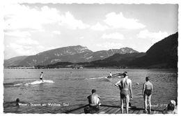 6344  WASSER - SKISPORT AM WALCHSEE~ 1960 - Österreich