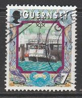 Guernsey 1999 Maritime Motifs 7p Multicoloured SW 821 O Used - Guernsey