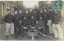 Groupe De MILITAIRES 333 Classe 698 - 1908/1909 - Photo Chrétien ARRAS - Régiments