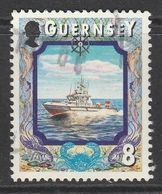 Guernsey 1999 Maritime Motifs 8p Multicoloured SW 822 O Used - Guernsey
