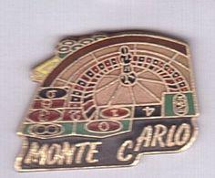 AB72 Pin's Jeu JEUX CASINO DE MONACO Monte Carlo Superbe Qualité Egf Achat Immédiat - Jeux