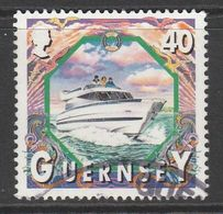 Guernsey 1999 Maritime Motifs 40p Multicoloured SW 825 O Used - Guernsey